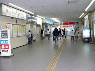 津島・出札口付近 (FREE)撮影日:[2007,4,22] SVGA ... 津島駅画像ファイ