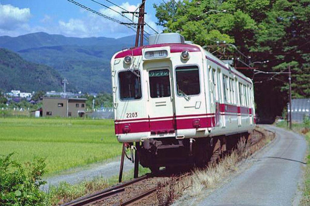 京福電気鉄道モハ2201形画像ファ...