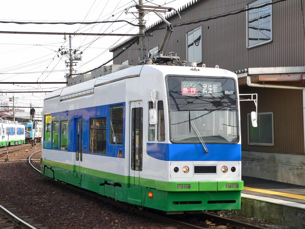 福井鉄道800形 [AGUI NET]